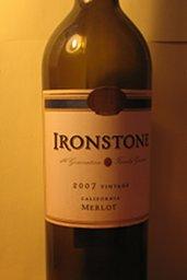 Ironstone Merlot 2007