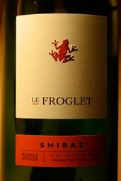 Le Froglet Shiraz 2009